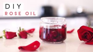 Do it yourself and make oil: DIY rose oil