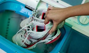 Cleaning Shoes Using Washing Machine
