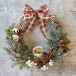 Easy Noel Farms Christmas Wreath