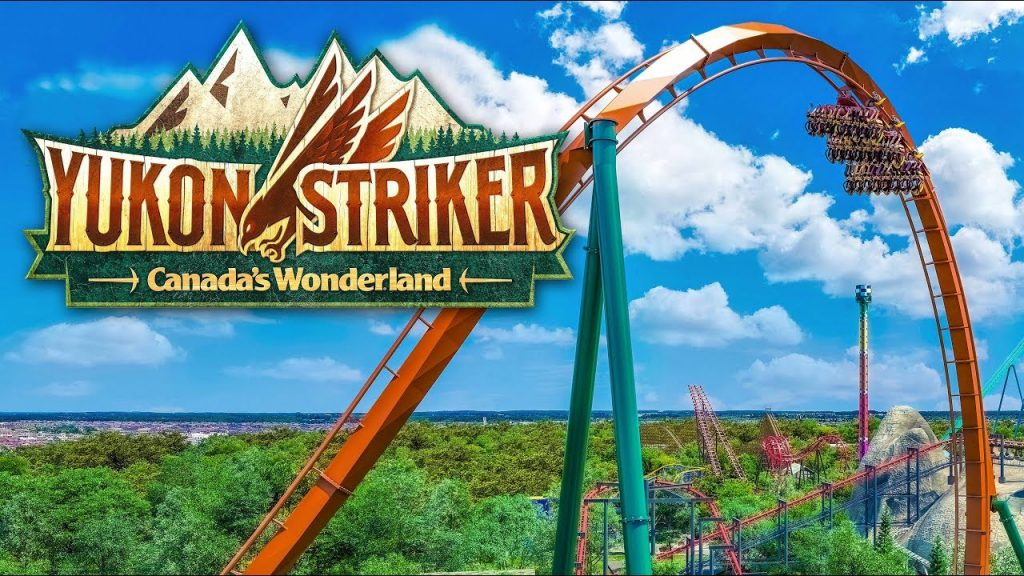 New 2019 Canada's Wonderland Ride - Yukon Striker Coming Spring 2019