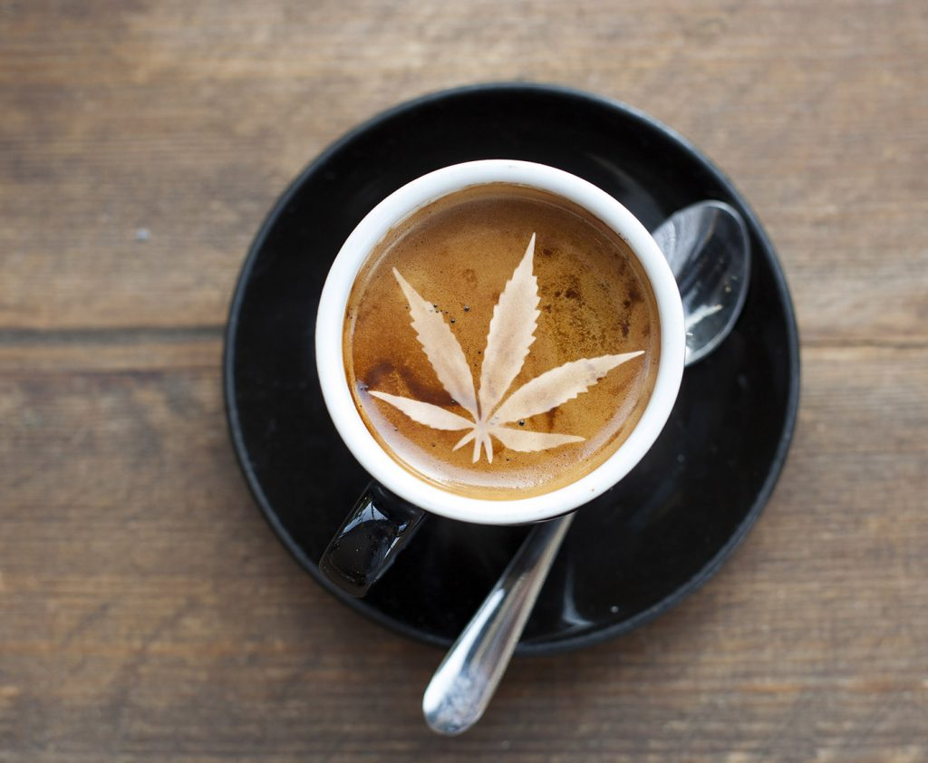 Canadian Cannabis Blended Coffee Product