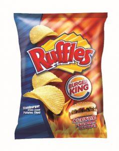 Ruffels at burger king
