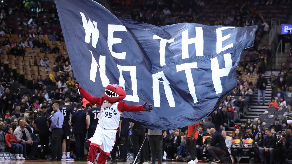 Free We the North Flag with Coors Light purchase GO RAPTORS