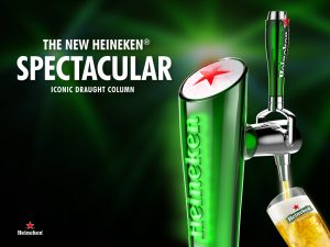 Cold Heineken Draught in Mississauga