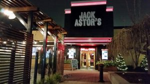 Guinness Beer and Cheddar Soup in Mississauga - Front of Jack Astor's Square One location