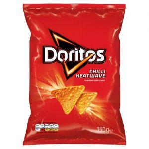 Are doritos chilli heatwave vegan